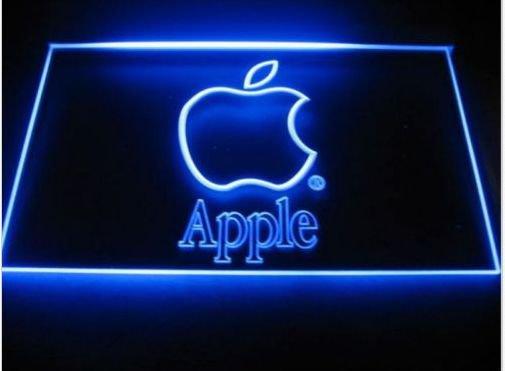 apple Dealer Display NEW 3D signs led neon Light Sign