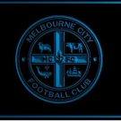 Melbourne City FC football club LOGO Bar Club Neon Light Sign Rare
