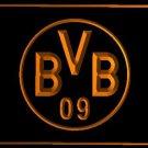 Borussia Dortmund football club LOGO Bar Club Neon Light Sign Rare