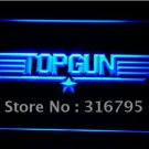 Top Gun Movie logo Beer Bar Pub Light Sign Neon