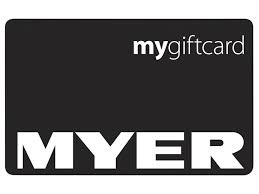 MYER GIFTCARD $100