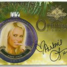 2015 Aubrie Lemon Benchwarmer Holiday Past and Presents Ornament Signatures Auto