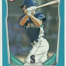 2014 Chris Taylor Bowman Blue Parallel 10/500 Seattle Mariners