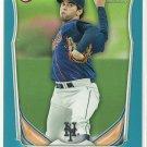 2014 Gabriel Ynoa Bowman Blue Parallel 283/500 New York Mets