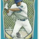 2014 Jordan Paroubeck Bowman Blue Parallel 416/500 San Diego Padres