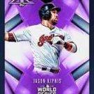 2016 Jason Kipnis Topps BUNT World Series Purple Fire Digital Card Indians