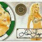 2013 Lisa Ligon Bench Warmer Vegas Baby Autograph