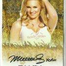 2015 Malorie Mackey Benchwarmer Daizy Dukez Haystack Autograph Signature Auto