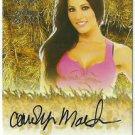 2015 Carolyn Martin Benchwarmer Daizy Dukez Haystack Autograph Signature Auto