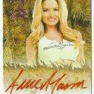 2015 Allie Mason Benchwarmer Daizy Dukez Orange Haystack Auto Sig Autograph