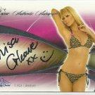 2008 Lisa Gleave Benchwarmer Signature Series Auto Signature Autograph