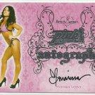 2016 Marissa Ivana Benchwarmer Pink Archive Final Edition Pink Auto Signature