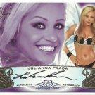 2010 Julianna Prada Benchwarmer Signature Series Auto Autographs