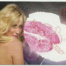 2005 Shannon Malone Benchwarmer Kiss Card Kissed by Model