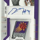 2010-11 Gani Lawal Panini Playoffs Contenders Rookie Ticket Patch Auto Suns Tech