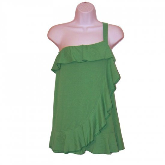 NWT JUICY COUTURE GOOD HOUSEKEEPING GREEN JERSEY TOP - M