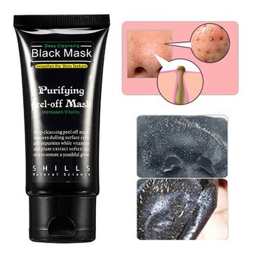 SHILLS Deep Cleansing Blackhead Peel-off Removal Black Mask Smoothes Skin Purifying