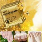 AFY Gold Foot Mask Exfoliating Whitening Nourish Sterilization Revitalizing Feet Care