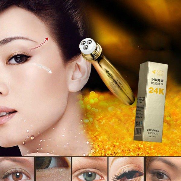 AFY 24K Gold Roll-on Collagen Eye Cream Anti-Dark Circle