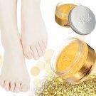 AFY 24K Essence Gold Ginger Exfoliate Foot Cream Feet Hard Dead Skin Remover Mask