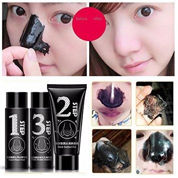 Hyaluronic Blackhead Removal Mask Face Nose Acne Peeling Off Carbon Masks Set