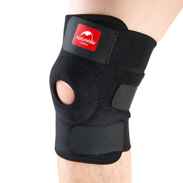 NatureHike Sport Knee Support Brace Cap Durable Shin Protector Kneepad For Basketball Football