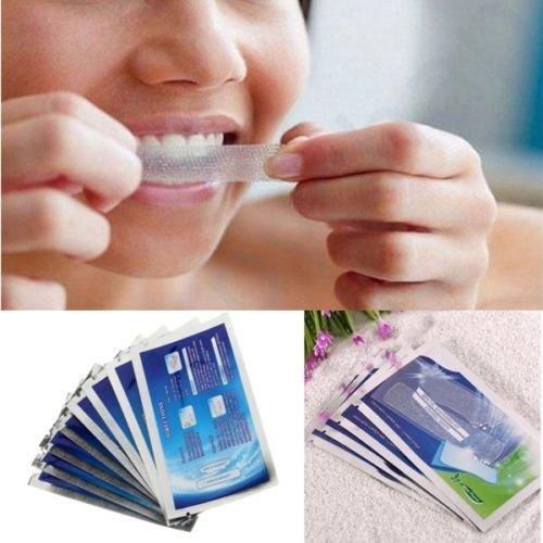 14 Pair 28Pcs Advanced Teeth Home Whitening Strips Tooth Bleaching Dental White Strip