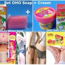OHO Cleanser + Cream Kill Extend Imprints Evacuate Dull Dead Skin Brightening