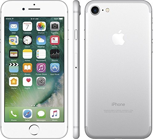 Apple iPhone 7 Unlocked Phone 128 GB - GSM Version (Silver)