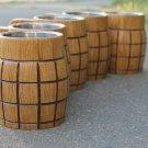 Set of 5 exclusive wooden beer mug eco friendly
