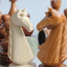 Wooden handmade luxury carved chess set