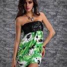 Sequin Floral Print Passionate Chemise