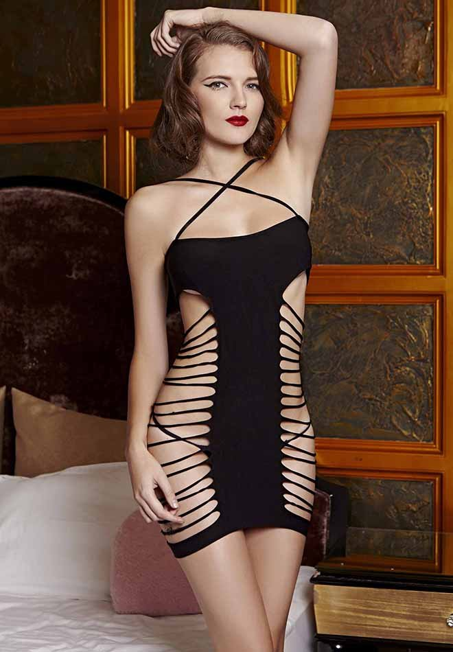 Criss Cross Chemise Dress