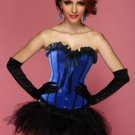 Blue Crush Corset Bustier & Pettiskirt