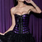 Burlesque Ribbons Overbust Corset