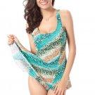 Polka Dot Printed Swimsuit