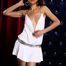 Sequin Belt Party Dress