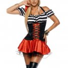 Halloween Fantasy Pirate Costume