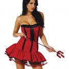 Red Dress Halloween Devil Costume