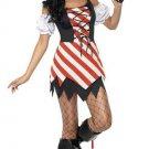 Striped Pirate Costume