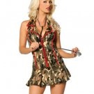 Camouflage Military Doctor Costume