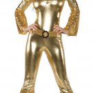 Gold Sequin Jumpsuit Costume