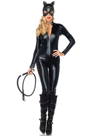 Vinyl Leather Catwoman Costume