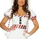 White Snowman Cutie Costume