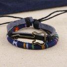 Alloy Guitar PU Leather Bracelet