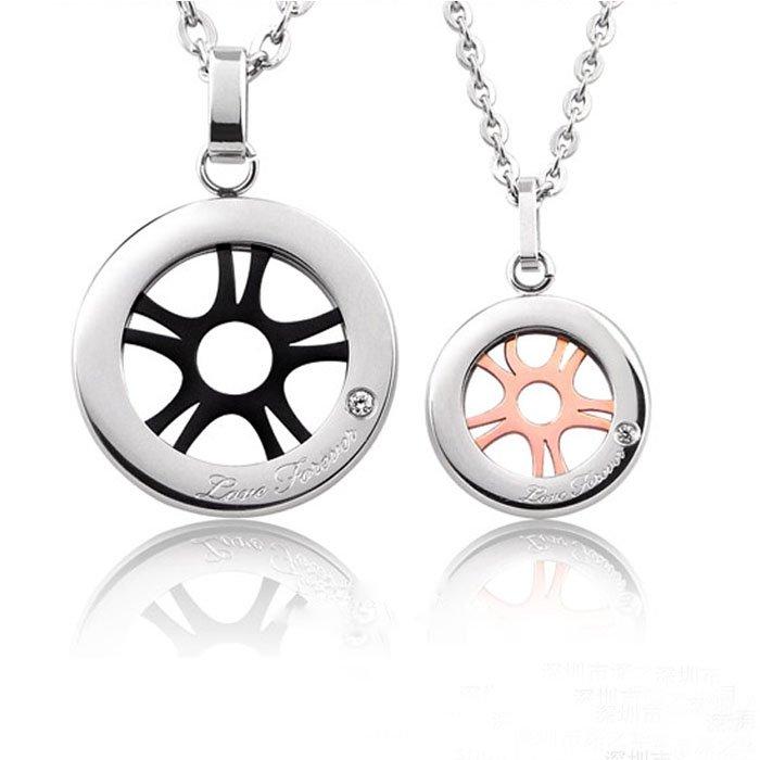 Love Wind Wheel Necklace