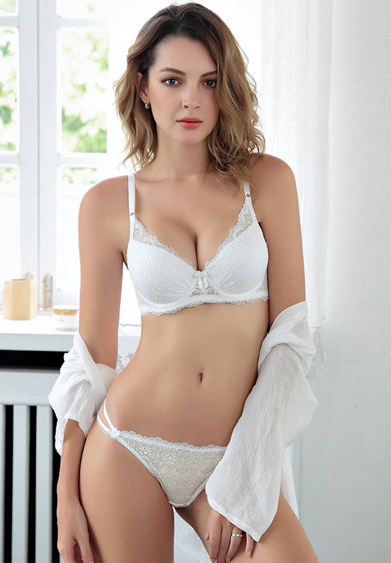 Sexy Push Up Underwire Bra and Panty Set