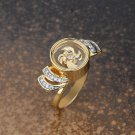 Gold Plated Thin Band Ring