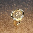 Gold Plated Windmill Ring