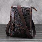 Men's Crocodile Shoulder Bag